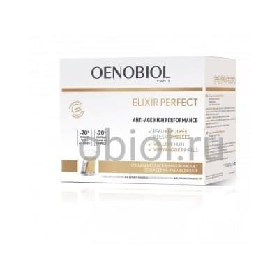 Oenobiol Elixir perfect-уменьшает глубину морщин и провисание кожи.