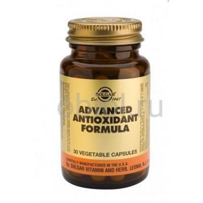 Solgar / Антиоксидантная формула 30 капсул