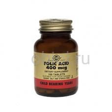 Таблетки Фолиевая кислота №100