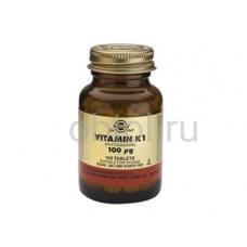 Витаним К, для формирование прочных костей и профилактика остеопороза 100 таблеток