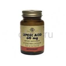 Альфа-липоевая кислота для увелечения физической выносливости 30 капсул