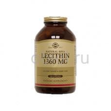 Натуральный соевый лецитин 100 капсул