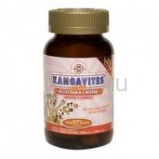 Кангавитес с мультивитаминами и минералами со вкусом тропических фруктов жев. таб. №60