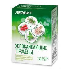 Успокаивающие травы. 30 таблеток
