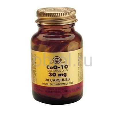 Solgar / Коэнзим Q-10 30 капсул