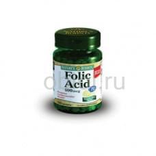 Фолиевая кислота 400 мкг 100 таблеток