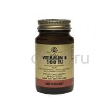 Витамин Е, для сохранения молодости и элластичности кожи 100ME 50 капсул