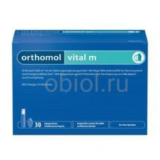 Vital M мультивитаминный комплекс для мужчин жидкость 20 мл + капс. 800 мг + капс. 700 мг №30