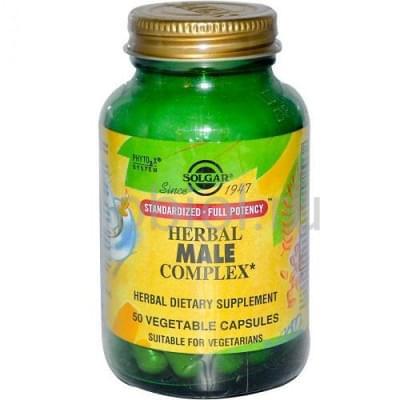 Solgar / Травяной комплекс для мужчин 50 капсул