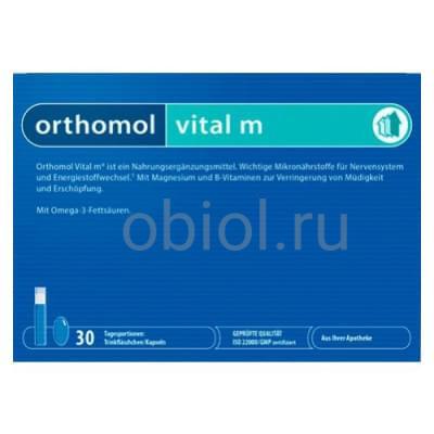 Orthomol / Ортомоль Витал М саше №30