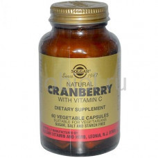 Натуральная клюква с витамином С 60 капсул