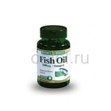 Рыбий жир 500 мг, Омега-3 60 капсул