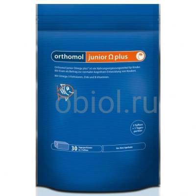 Orthomol / Junior Omega plus ириски жевательные 5г №30