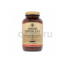 Комплекс жирных кислот 1300 Омега 3-6-9 120 шт