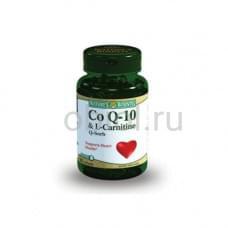 Коэнзим Q-10 и L-карнитин 60 капсул