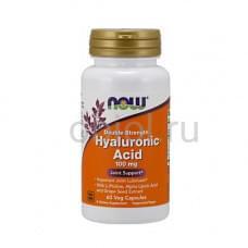 Гиалуроновая кислота двойной силы 60 капсул по 445 мг