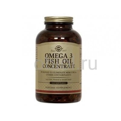 Solgar / Натуральный рыбий жир с оптимальным содержанием омега-3 120 капсул