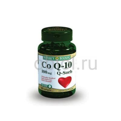 Nature`s Bounty / Коэнзим Q-10 60 капсул