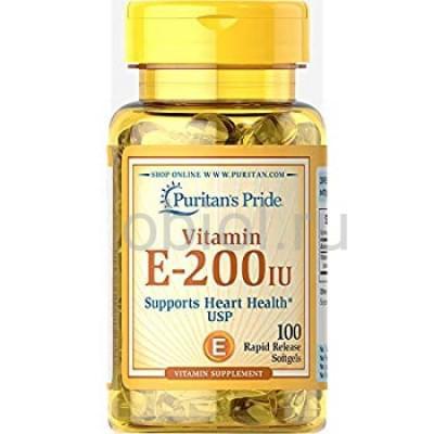 Puritan's Pride / VITAMIN E-200IU