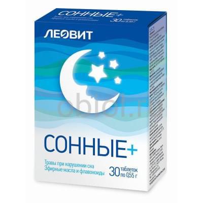 Леовит / Сонные. 30 таблеток