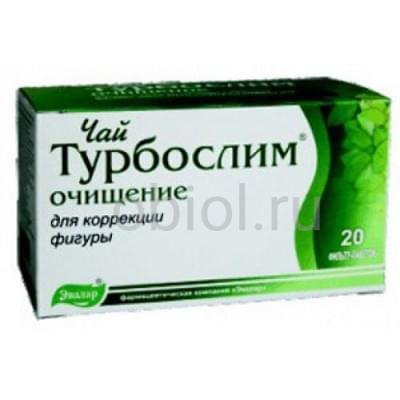 Турбослим / Турбослим чай очищение №20