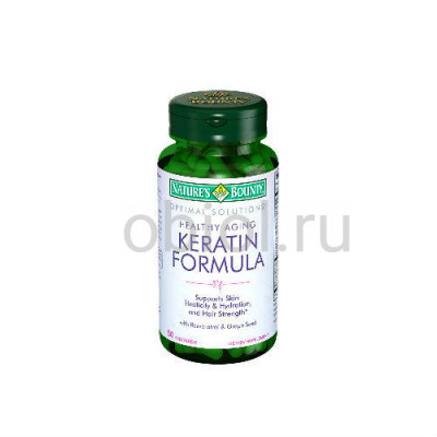 Nature`s Bounty / Кератин формула 50 капсул