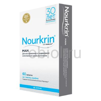 Nourkrin / Нуркрин для мужчин 60 таблеток