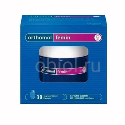 Orthomol / Фемин капсулы 675 Мг, 60 шт