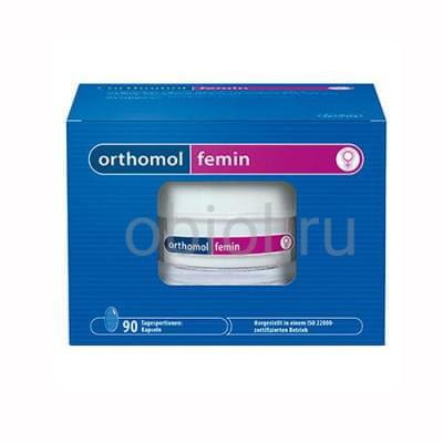 Orthomol / Фемин капсулы 675 Мг, 180 шт
