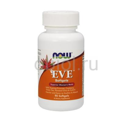 Now Foods / Витамины для женского здоровья Ева 1530 мг, 90 таблеток